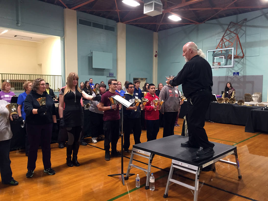 The annual Twelfth Night Handbell Festival returns to town on Friday and Saturday, culminating ...