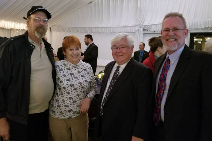 The 2019 State of the City event was a time for residents and city staff including, from left, ...
