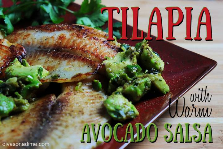 (Patti Diamond) Tilapia is a firm white fish that is so mild it takes on the flavors of whateve ...