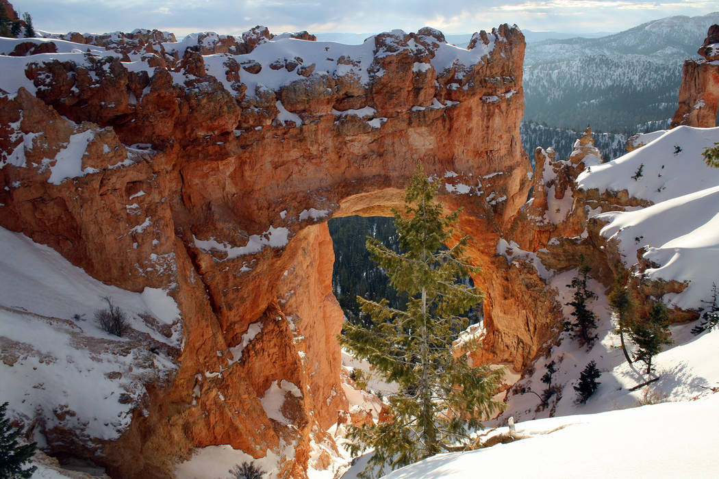 (Deborah Wall) Natural Bridge is actually a natural arch and can be seen along the 18-mile long ...