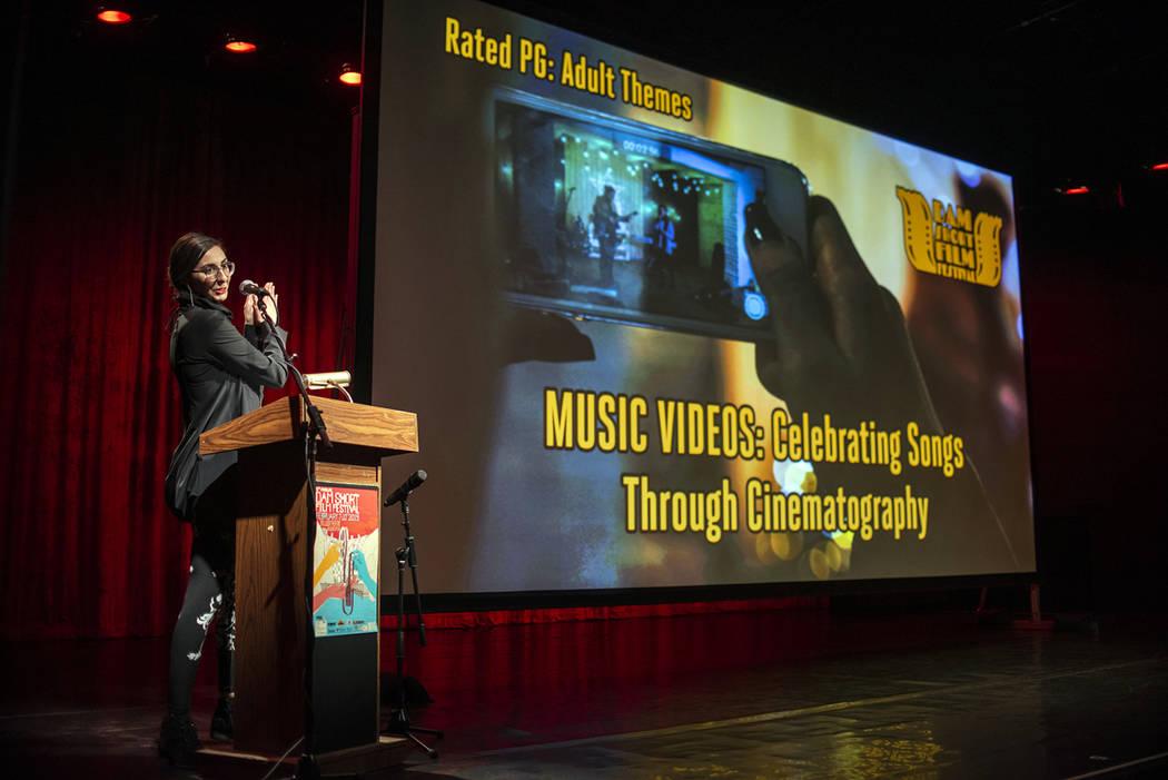 Aaron Garcia Tsvetelina Stefanova, seen at the 2019 Dam Short Film Festival, has been named exe ...