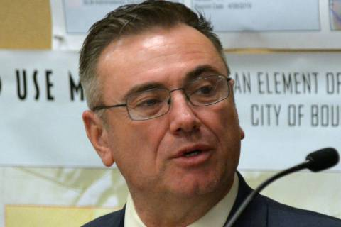 Celia Shortt Goodyear/Boulder City Review City Manager Al Noyola touted almost $10 million in s ...