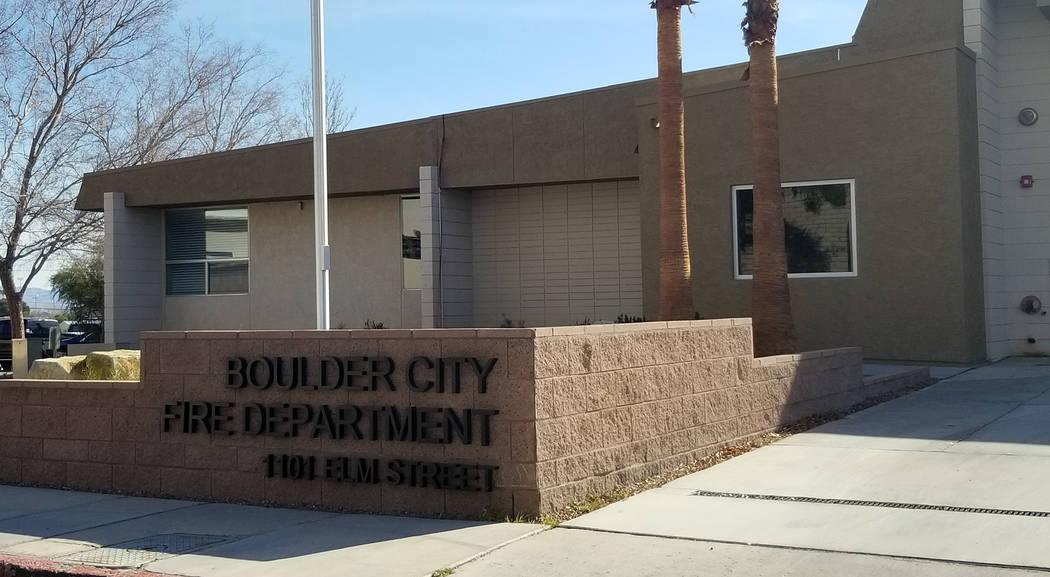 Boulder City Fire Department-Jan. 2020