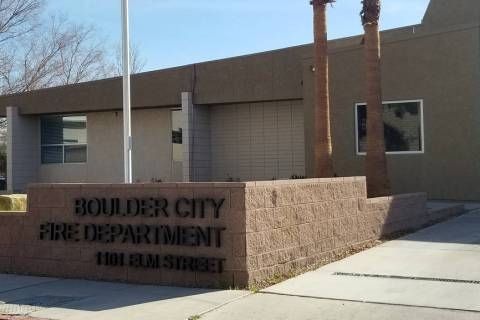 Boulder City Fire Department-Jan. 2020