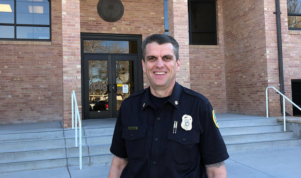 (Boulder City) William Gray started in his position as the Boulder City Fire Chief on Monday, ...