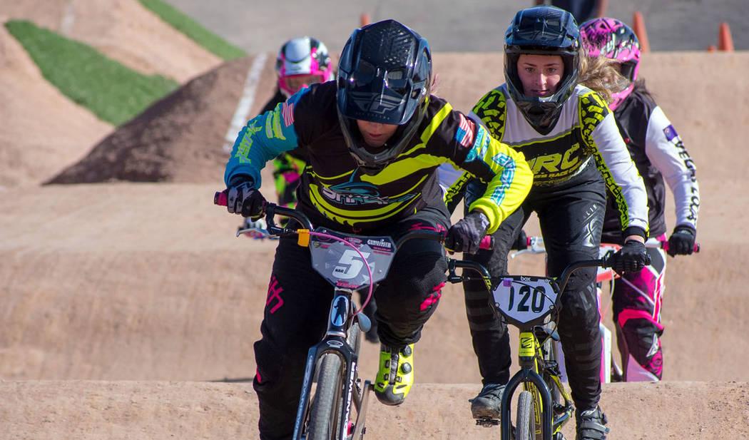 (Boulder BMX) Boulder BMX, which operates the track at Veterans' Memorial Park, will host a sta ...