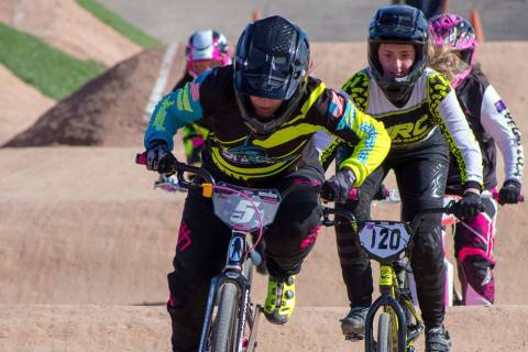 (Boulder BMX) Boulder BMX, which operates the track at Veterans' Memorial Park, will host a sta ...