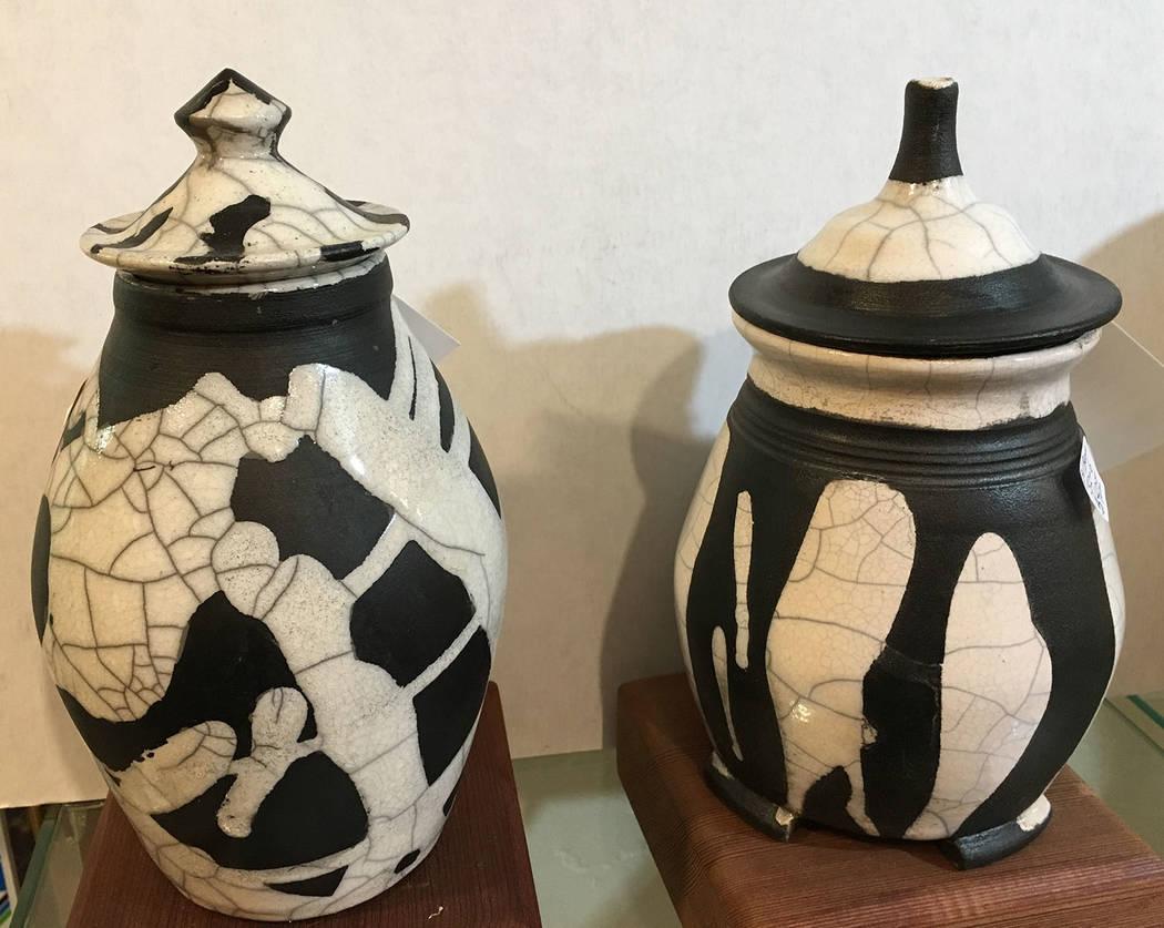(Boulder City Art Guild) A special raku pottery firing event will be held Saturday, Feb. 8, 202 ...