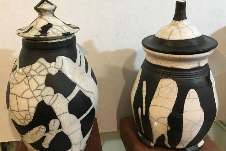 (Boulder City Art Guild) A special raku pottery firing event will be held Saturday, Feb. 8, 202 ...