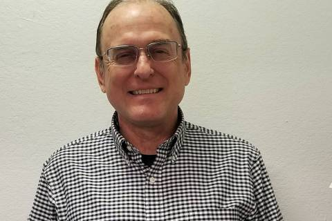 (Celia Shortt Goodyear/Boulder City Review) The Rev. Michael Eaton is the new pastor at Boulder ...