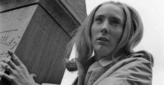 "Actress Judith O'Dea, who portrayed Barbara in ""Night of the Living Dead,"" ..."