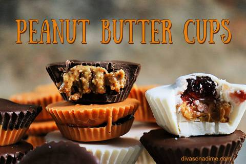 (Patti Diamond) Homemade peanut butter cups are quick and easy to make, and are an ideal treat ...