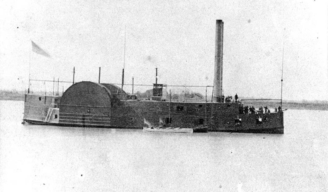 (Dave Maxwell) This pre-Civil War Union gunboat is what the Explorer might have looked like as ...