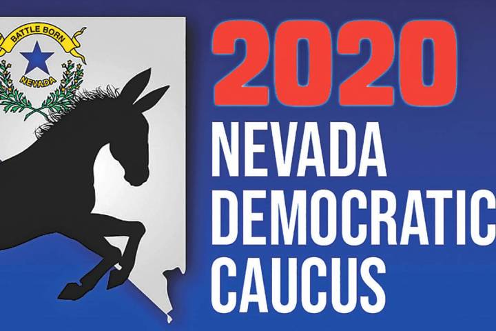 (Heather Ruth/Pahrump Valley Times) The 2020 Nevada Democratic Caucus is set for Saturday, Feb. ...