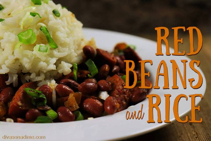 (Patti Diamond) Canned beans simplify preparation of red beans and rice, a classic Creole dish ...