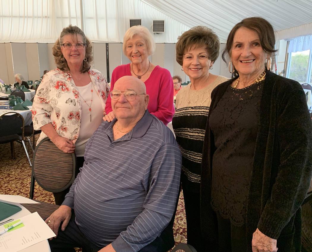 (Hali Bernstein Saylor/Boulder City Review) Among those attending the 80th anniversary celebrat ...