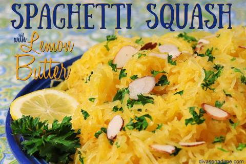 (Patti Diamond) Spaghetti squash is an ideal substitute for pasta and pairs well with a lemony ...