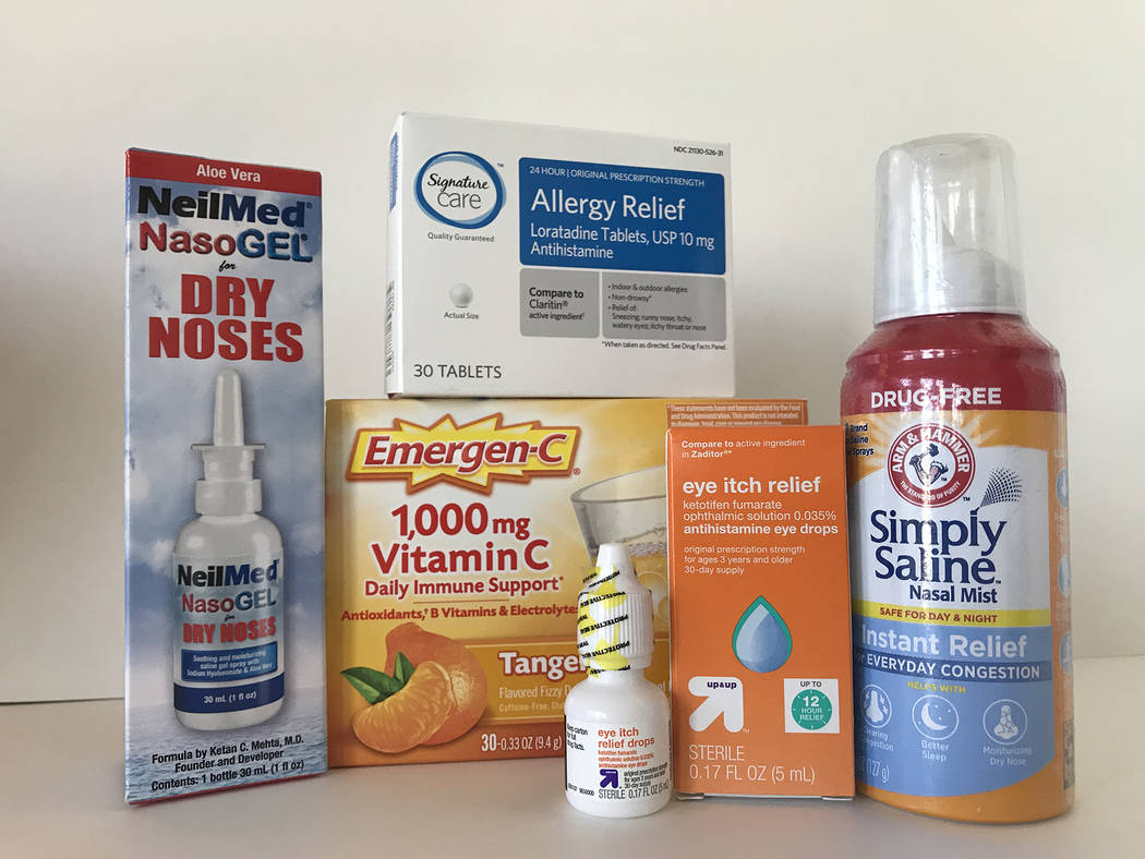 (Norma Vally) An assortment of medications can help reduce the effects of allergies brought on ...