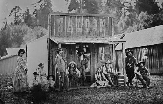 (Dave Maxwell) Saloons and taverns were an integral part of most mining towns, including those ...