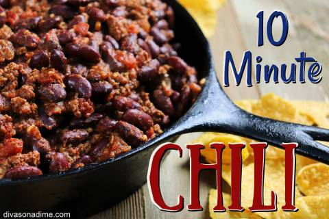 (Patti Diamond) This simple chili recipe uses items that are likely in your pantry. It can be u ...