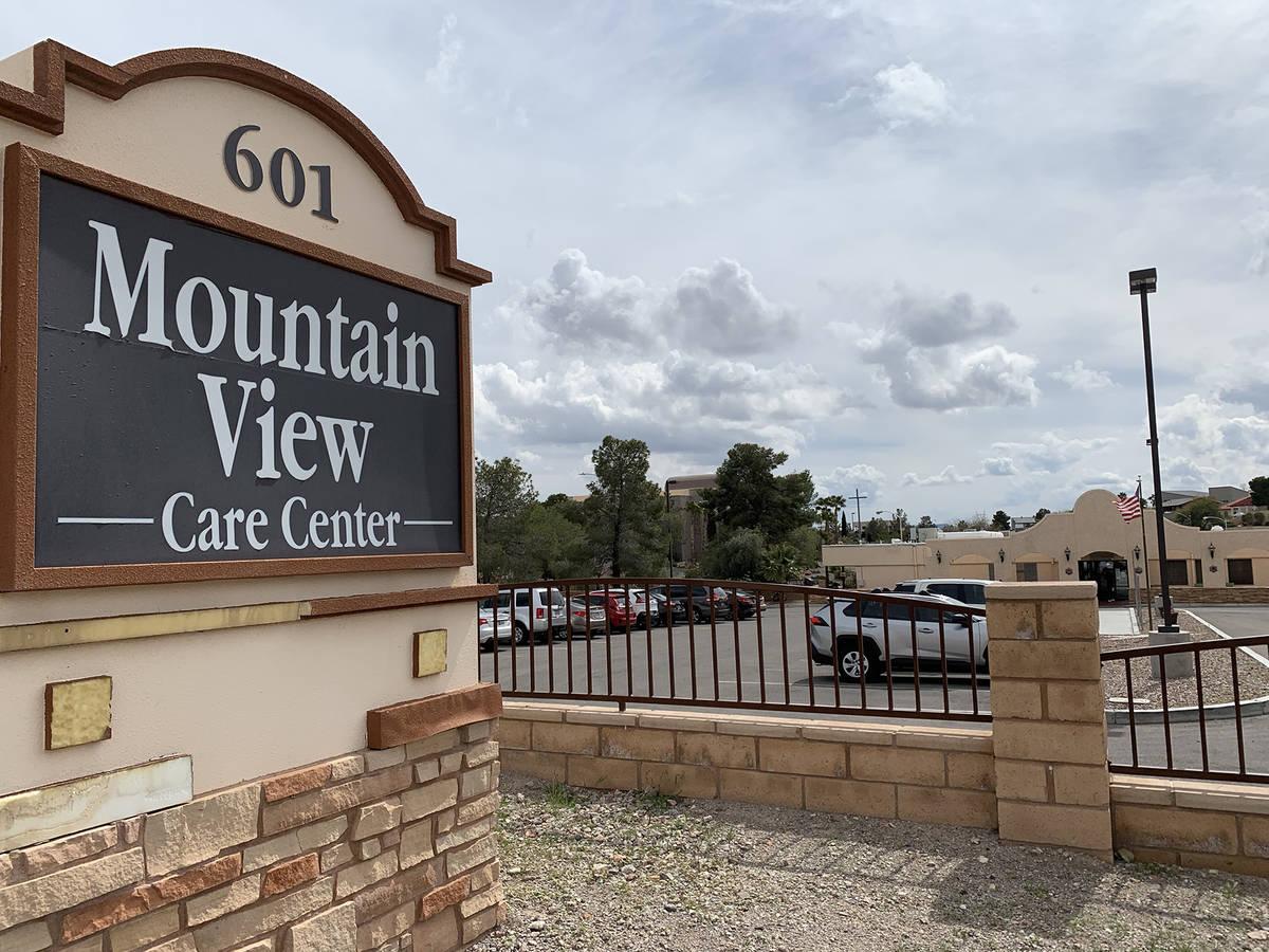(Hali Bernstein Saylor/Boulder City Review) Federal regulators for Medicare and Medicaid rated ...