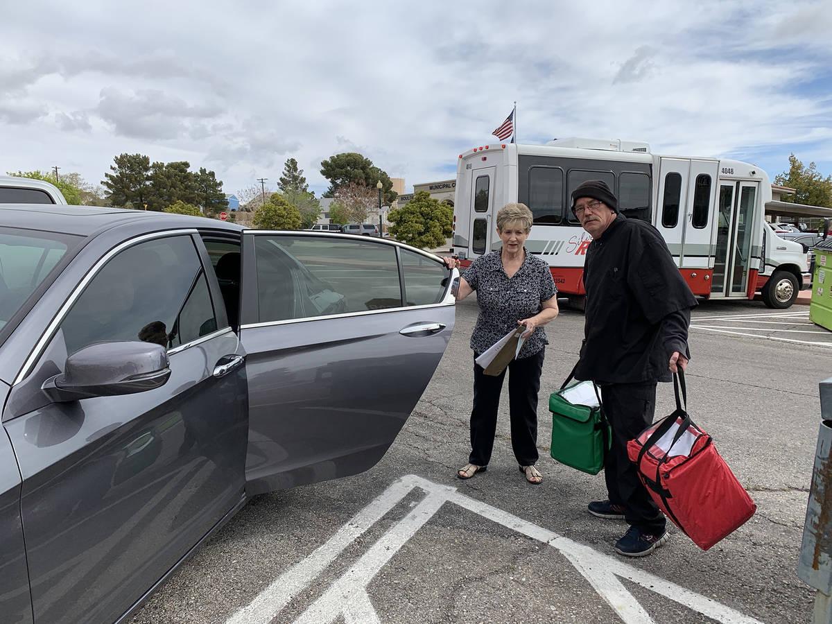 (Hali Bernstein Saylor/Boulder City Review) Kathy Emling, president of the Senior Center of Bou ...