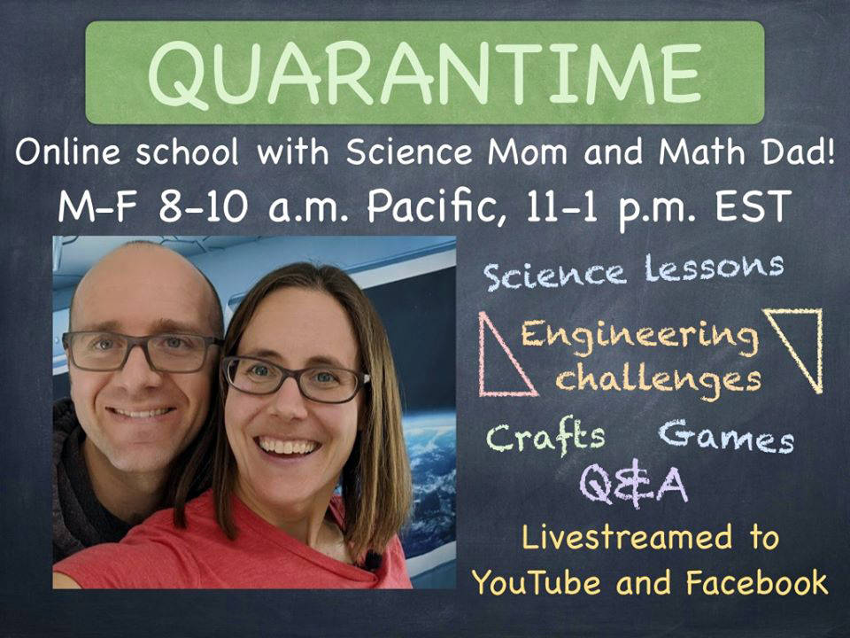 Science Mom Science Mom, Jenny Ballif, and her husband, Serge, or Math Dad, have started a dail ...