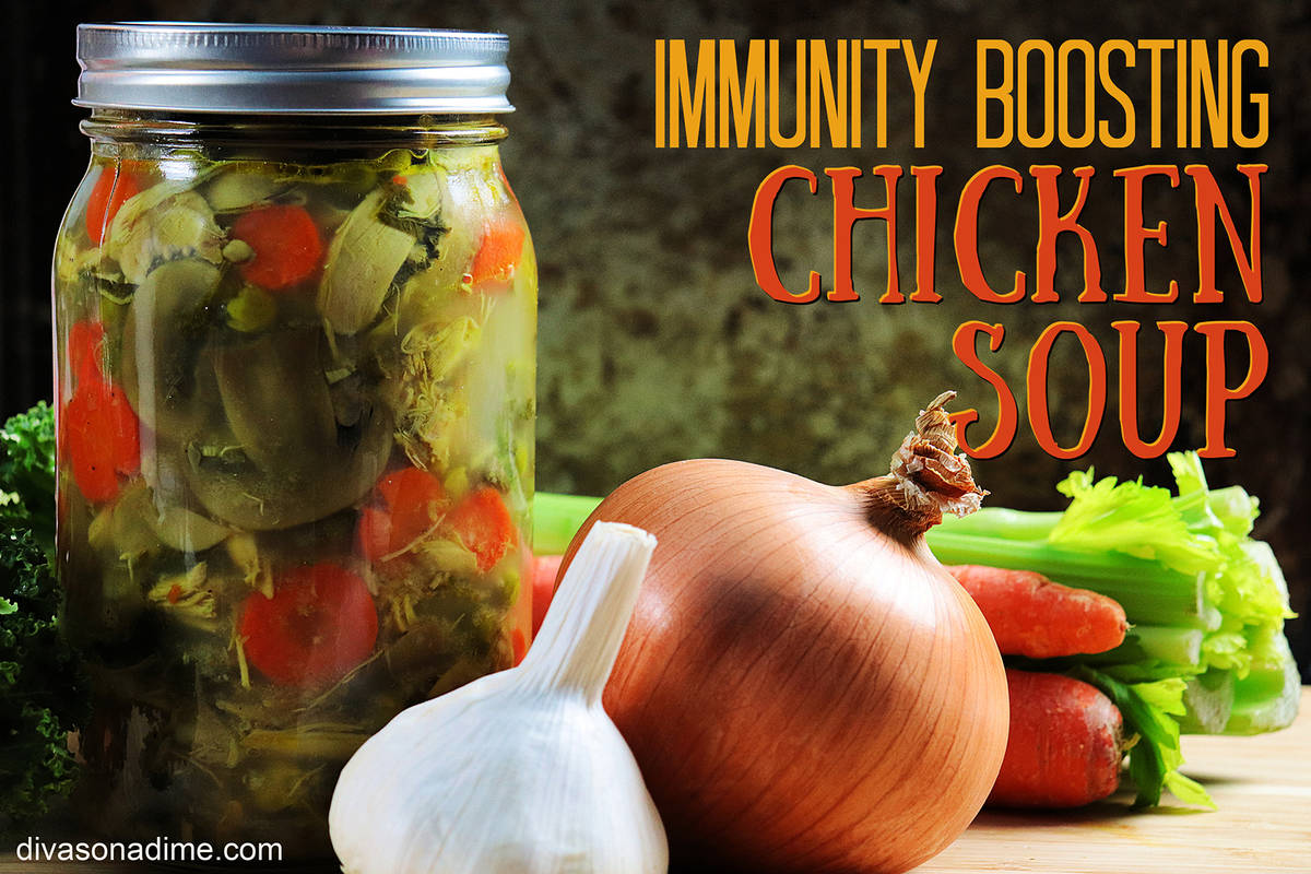 Patti Diamond Chicken soup is filled with antioxidant and anti-inflammatory ingredients. It&#x2 ...