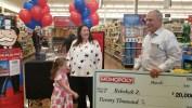 Ziembicki 'passes go'; single mom wins $20,000 in Monopoly contest