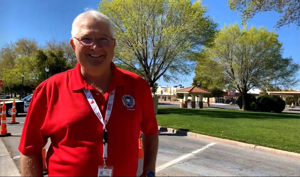 Hali Bernstein Saylor/Boulder City Review Boulder City's purchasing manager Paul Sikora collect ...
