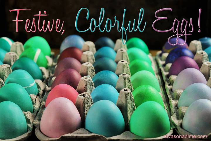 (Patti Diamond) Brighten your Easter celebration with colorfully dyed eggs.