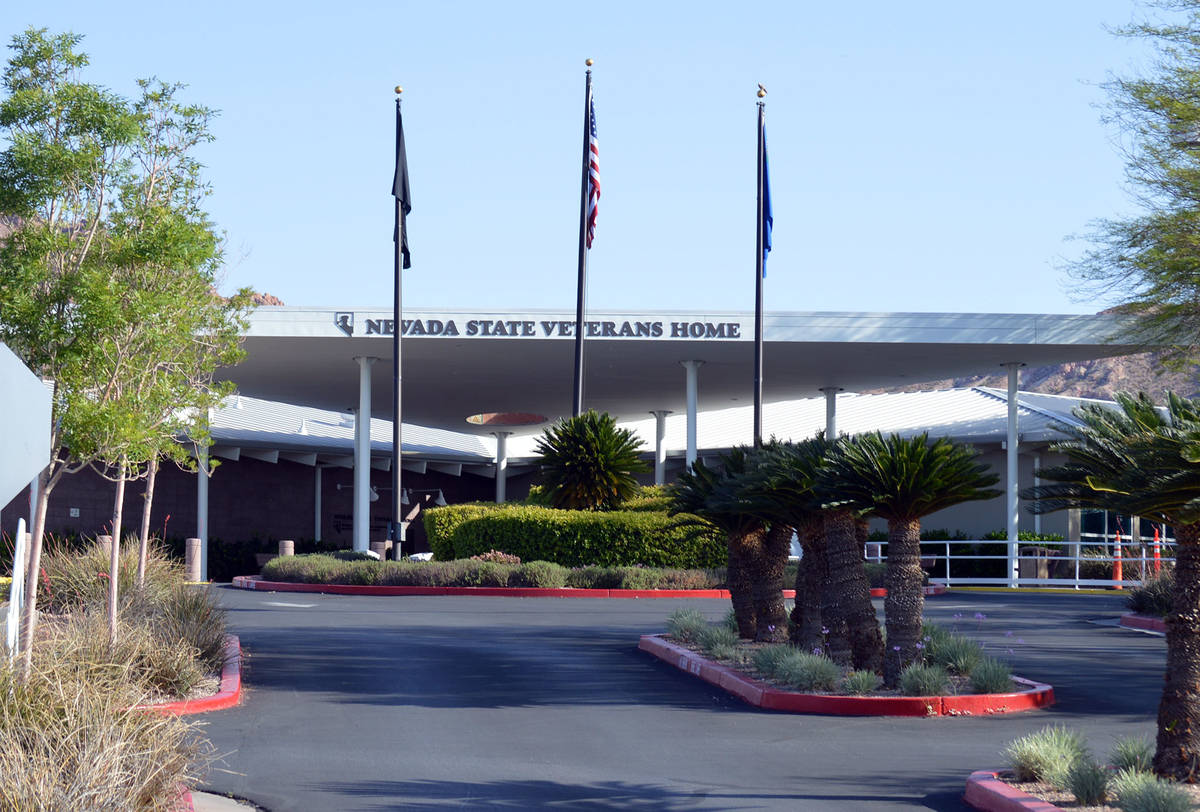 Five residents of the Southern Nevada State Veterans Home in Boulder City have tested positive ...
