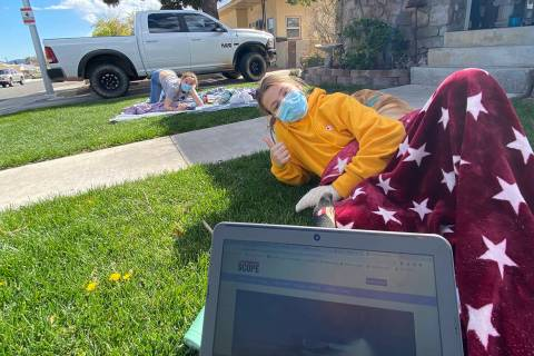 (Norma Vally) Getting some sunshine is critical to keeping stress at a minimum as families comp ...