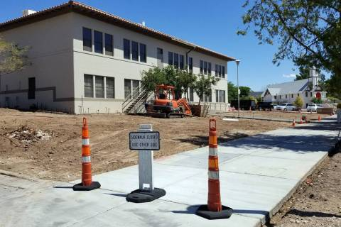 Celia Shortt Goodyear/Boulder City Review The city is installing Chinese pistache trees at the ...
