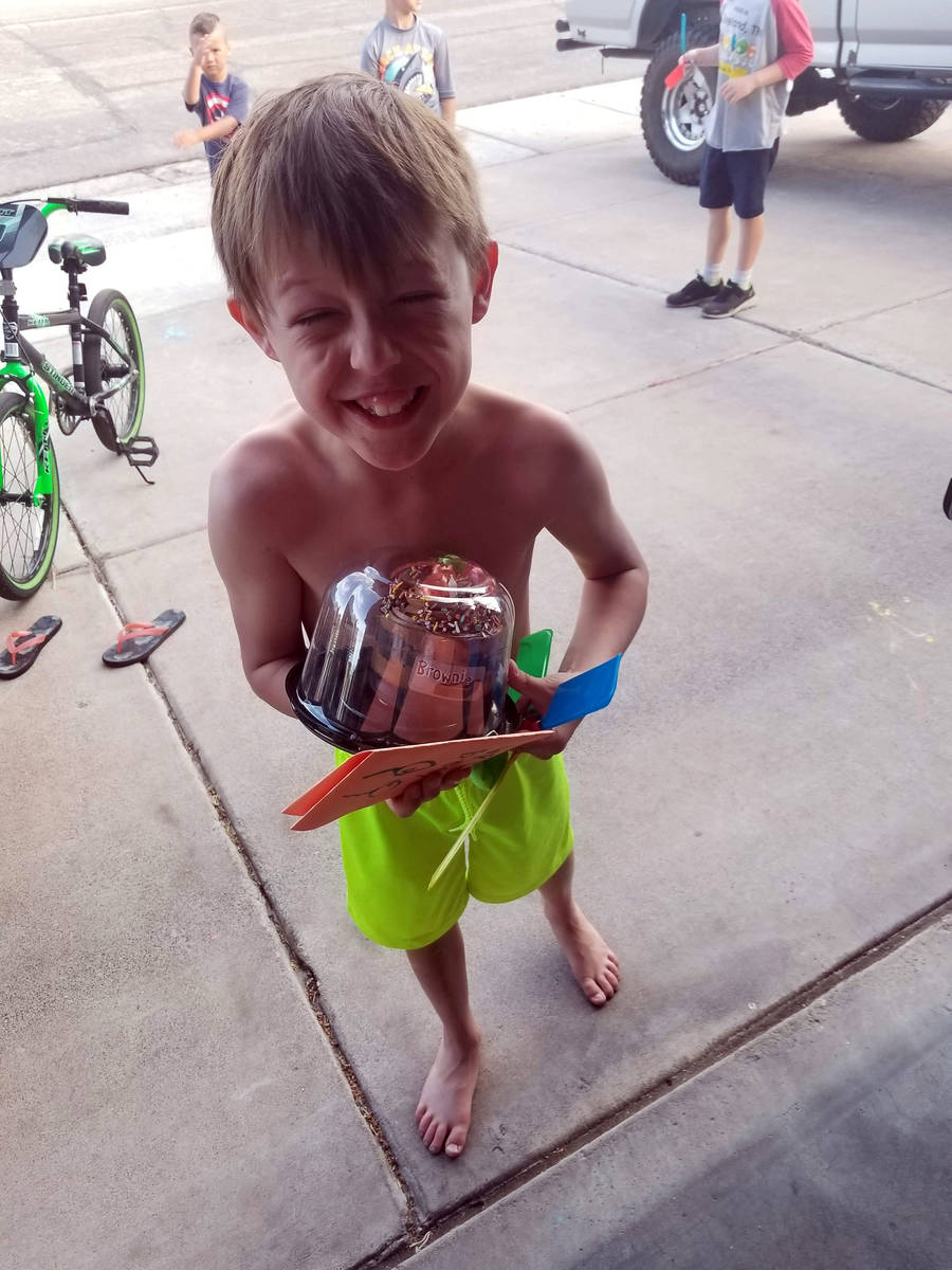 Tabitha Dunmire Wyatt Dunmire celebrated his 9th birthday Saturday, April 25, with a cake and c ...