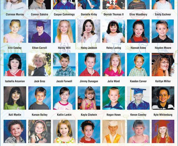 A page featuring kindergarten photos of graduating seniors will be published by the Boulder Cit ...