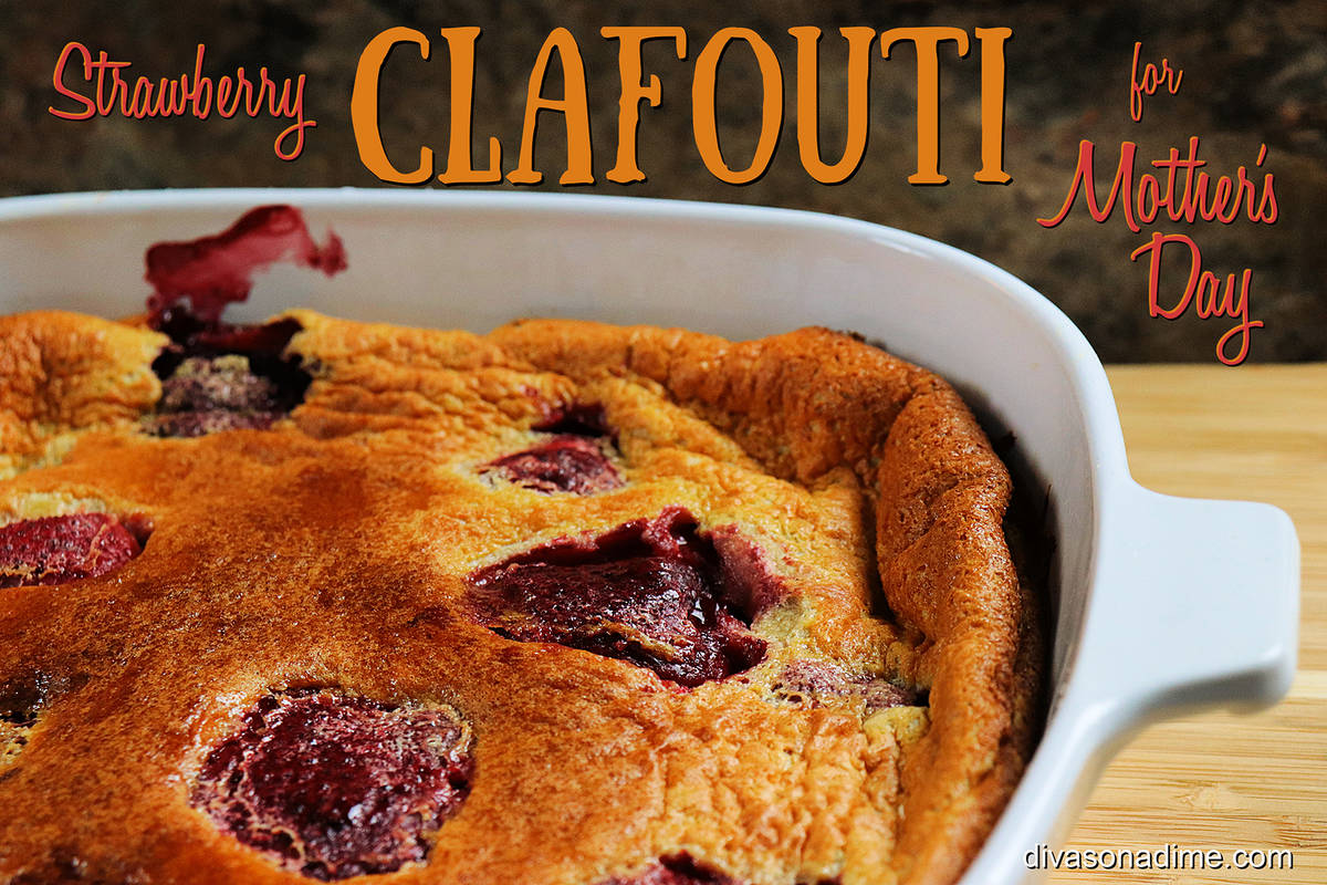 (Patti Diamond) An easy and versatile dish to make for brunch this Mother's Day is clafo ...