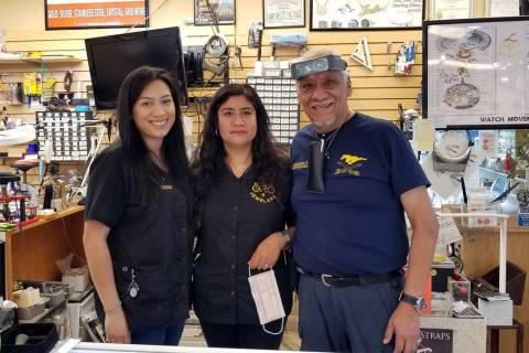 Celia Shortt Goodyear/Boulder City Review Oro Jewelers is now open for business with safety pre ...