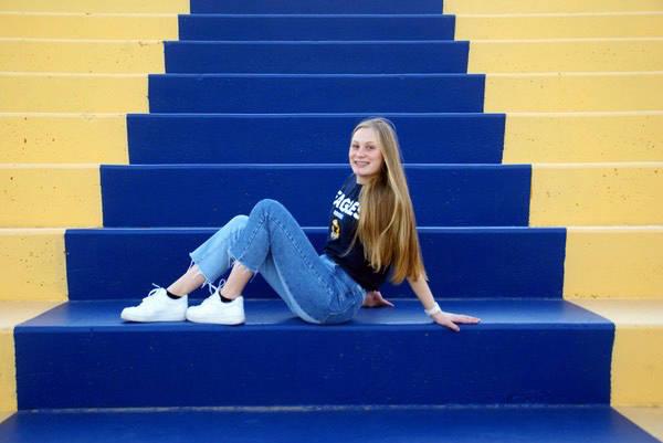 Valedictorian Sophia Morris
