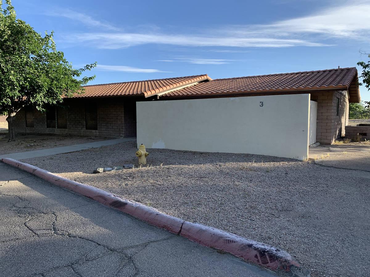 (Hali Bernstein Saylor/Boulder City Review) Cottage 3 at ABC Park, 801 Adams Blvd., will become ...