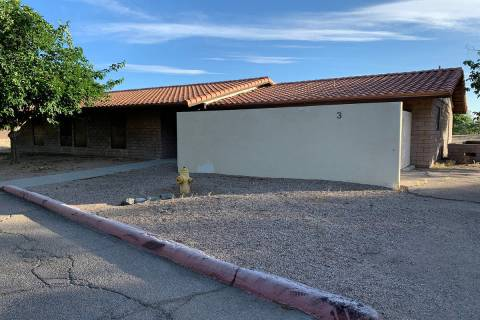 (Hali Bernstein Saylor/Boulder City Review) Cottage 3 at ABC Park, 801 Adams Blvd., will become ...