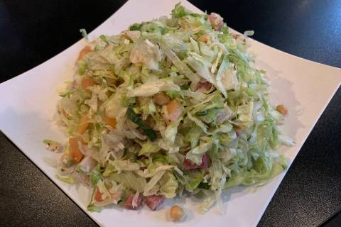 (Hali Bernstein Saylor/Boulder City Review) The Chopped Salad at the Dillinger Food and Drinker ...