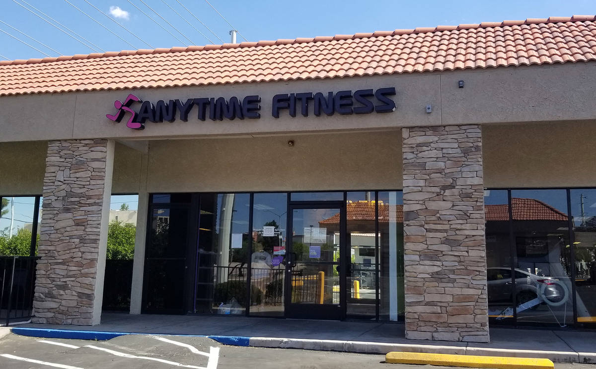Celia Shortt Goodyear/Boulder City Review Anytime Fitness, 806 Buchanan Blvd., is open for busi ...