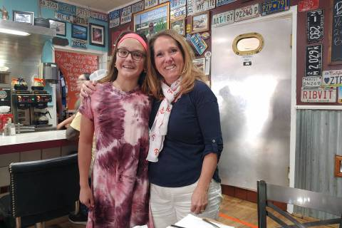 Christina Wammack-Freshour Jenny Wammack-Freshour, left, nominated her third-grader teacher, Pa ...