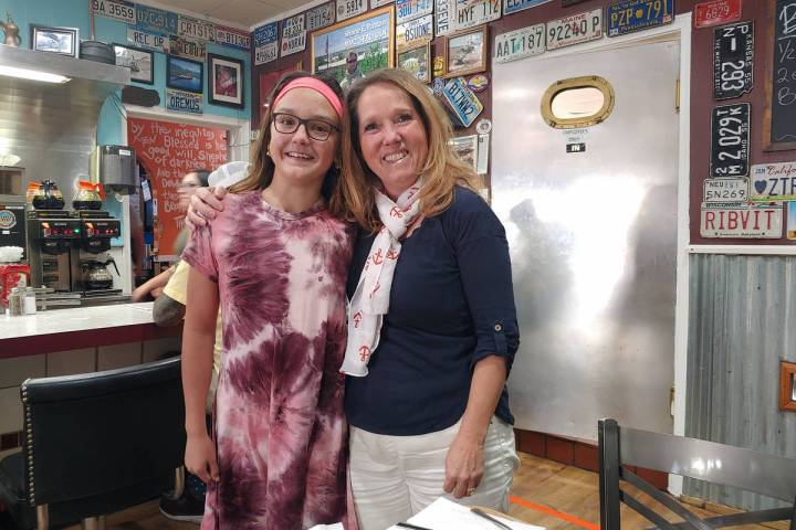 Christina Wammack-Freshour Jenny Wammack-Freshour, left, nominated her third-grader teacher, Pa ...