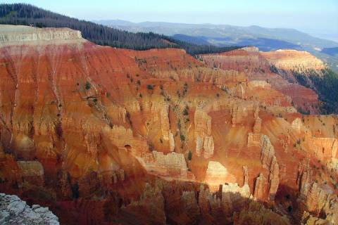 (Deborah Wall) Cedar Breaks National Monument in Utah is best known for its natural limestone a ...