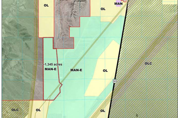 Boulder City Planning commissioners are recommending the future land use for a 1,345 parcel of ...