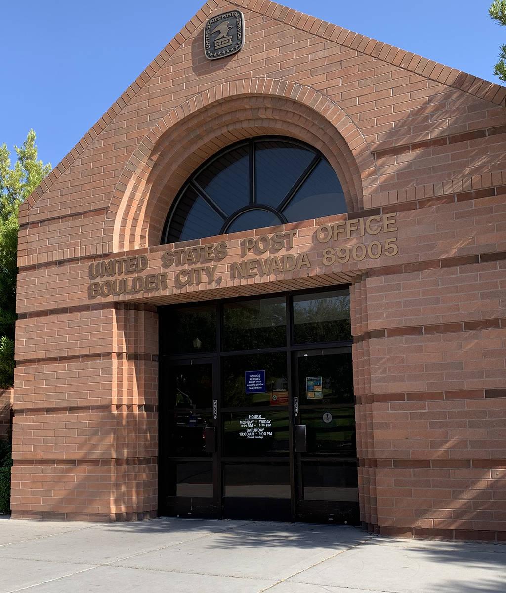 (Hali Bernstein Saylor/Boulder City Review) United States Postal Service officials have determi ...