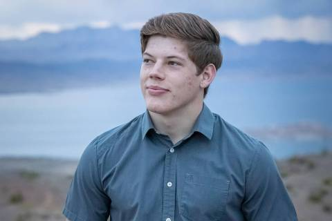 (Cade Cowley) Cade Cowley, a member of Boulder City High School's class of 2020, will at ...