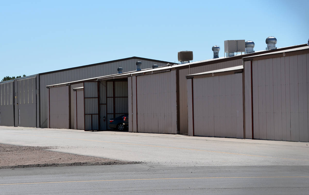 Celia Shortt Goodyear/Boulder City Review The city has taken ownership of 28 hangars at the Bou ...